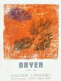Expo 68 - Galerie Cavalero Lámina coleccionable por Camille Bryen