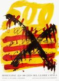 Expo 74 - 500 anys del Llibre Catala Samlertryk af Antoni Tapies