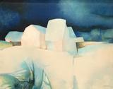 p - Les maisons blanches Særudgave af Claude Gaveau