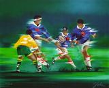 s - Rugby Limitierte Auflage von Victor Spahn