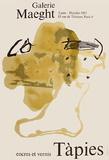 Expo Encres et vernis Reproduction pour collectionneur par Antoni Tapies