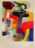 Expo 57 Galerie Benador (avant la lettre) Impressão colecionável por Maurice Esteve