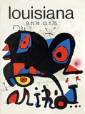 Expo 75 - Louisiana Premium Editions van Joan Miró