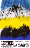 Expo Fondation Maeght Samlertryk af Hans Hartung