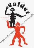 Expo 75 - Galerie Maeght Reproduction pour collectionneur par Alexander Calder
