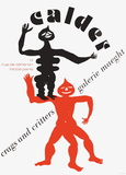 Expo 75 - Galerie Maeght Keräilyvedos tekijänä Alexander Calder