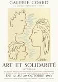 Expo 61 - Art et Solidarité Impressão colecionável por Pablo Picasso