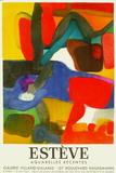 Expo 63 Galerie Villand Galanis Impressão colecionável por Maurice Esteve