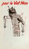 Pour Le Vietnam Reproduction pour collectionneur par Alexander Calder
