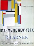 Expo Galerie Louis Carré Samlertryk af Fritz Glarner