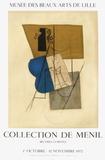 Expo 70 - Musée des Beaux-Arts de Lille Impressão colecionável por Pablo Picasso