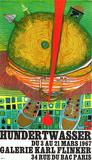 Expo Galerie Kark Finkler Edição premium por Friedensreich Hundertwasser