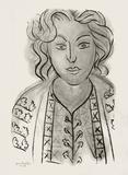 Jeune Femme Samletrykk av Henri Matisse