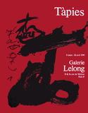 Expo Galerie Lelong 90 Samlertryk af Antoni Tapies