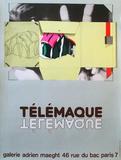 Expo Galerie Maeght 81 Samlertryk af Herve Telemaque