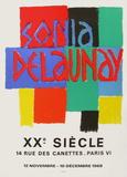 Expo 68 - XXème Siècle Premium-versjoner av Sonia Delaunay-Terk