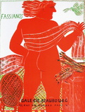 Expo 1981 - Galerie Beaubourg Lámina coleccionable por Alexandre Fassianos