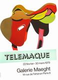 Expo Galerie Maeght 79 Samlertryk af Herve Telemaque
