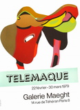 Expo Galerie Maeght 79 Collectable Print by Herve Telemaque