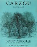 Expo 75 - Vision Nouvelle II Sammlerdrucke von Jean Carzou