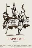 Expo 62 - Villand & Galanis Sammlerdrucke von Charles Lapicque
