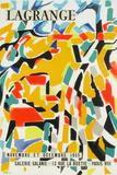 Expo 55 - Galerie Galanis Lámina coleccionable por Jacques Lagrange