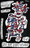 Expo Fondation Maeght Stampa da collezione di Jean Dubuffet