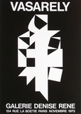 Expo 73 - Galerie Denise René Collectable Print by Victor Vasarely