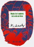 Expo 051 - Musée d'Art Moderne VP Keräilyvedos tekijänä Pierre Alechinsky