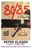 Expo 85 - Saint Paul de Vence Samlarprint av Peter Klasen