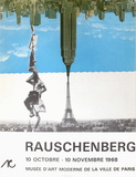 Expo 68 - Musée d'Art Moderne Paris Edição premium por Robert Rauschenberg