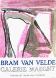 Expo 75 - Galerie Maeght Keräilyvedos tekijänä Bram van Velde