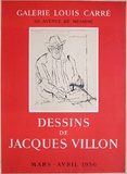 Dessins de Jacques Villon Samlarprint av Jacques Villon