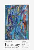 Expo 90 - Galerie Louis Carré Keräilyvedos tekijänä André Lanskoy