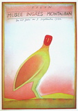 Expo 1982 - Musée Ingres Samlarprint av Jean Michel Folon
