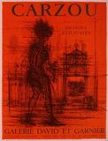 Expo 65 - Galerie David et Garnier Sammlerdrucke von Jean Carzou