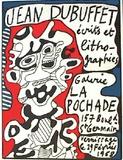 Ecrits Et IIthographies Impressão colecionável por Jean Dubuffet
