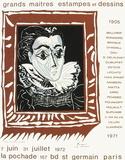 Expo 71 - Galerie La Pochade Premium-Edition von Pablo Picasso