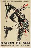 Expo 67 - Salon de Mai Impressão colecionável por Wilfredo Lam