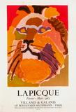 Expo 63 - Villand & Galanis Samlertryk af Charles Lapicque
