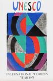 International Womens Year Impressão colecionável por Sonia Delaunay-Terk