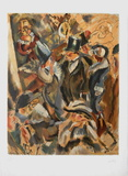 Soiree Mondaine Collectable Print by Jules Pascin