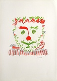 Le clown Reproductions de collection premium par Pablo Picasso