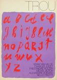 MP 388 Affiche pour la Revue Trou Rajoitettu erä tekijänä Bram van Velde