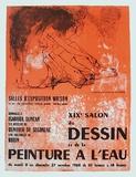 Expo Salon Du Dessin Samlarprint av Jean Jansem