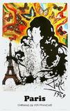 Affiches Sncf : Ile-De-France Sammlerdrucke von Salvador Dalí