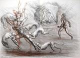 Metamorfosi di Ovidio 01 Collectable Print by Marcello Tommasi