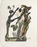 Dc Enfer 13 - La Forêt Des Suicidés Reproduction pour collectionneur par Salvador Dalí