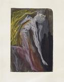 Divine Comedie, Enfer 09: Les Erynnies Impressão colecionável por Salvador Dalí