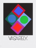 Expo Vasarely (affiche avant la lettre) Collectable Print by Victor Vasarely